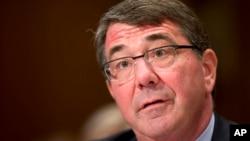 El secretario de Defensa de EE.UU., Ash Carter, dice que Occidente no busca una confrontación con Rusia, pero que se defenderá.