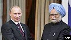 Rusija i Indija potpisale vojne i energetske sporazume