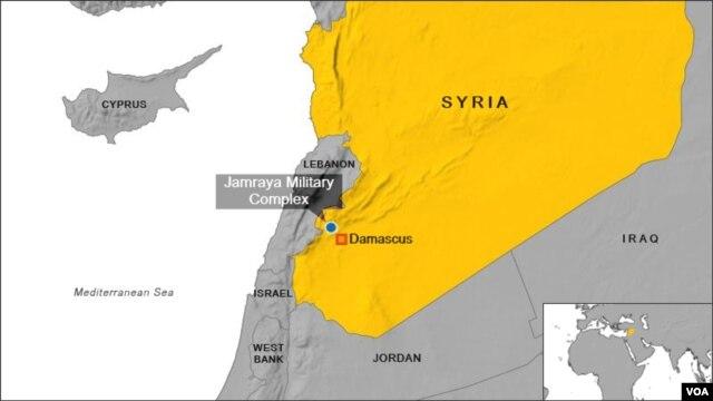 Địa điểm Khu vực Quân sự Jamraya