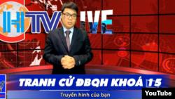 Ứng cử viên ĐBQH Lê Trọng Hùng giới thiệu chương trình tranh cử trên kênh YouTube CHTV Viet Nam ngày 25-3-2021.