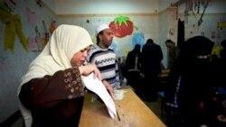 حضور چشمگير مصری ها در نخستين آزمايش حرکت به سوی دموکراسی