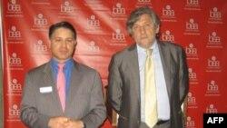 Стив Росато и Владимир Григорьев. Нью-Йорк, май 2011 г.