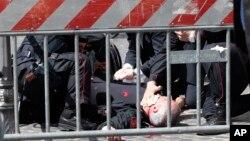 意大利羅馬發生的槍擊案﹐嫌疑人當場被逮捕。