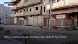 Kurdish Forces, Syrian Regime Militia Clash in Qamishli
