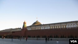 莫斯科红场和克里姆林宫。(美国之音白桦拍摄)
