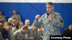 General David Rodriguez, comandante do Comando Americano para África - AFRICOM