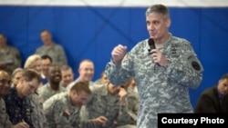 General David M. Rodriguez, commander of U.S. Africa Command (USAFRICOM) in April 22, 2013 file photo.