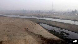 印度河在巴基斯坦境内的支流——拉维河。