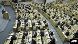 Thượng viện Nga hôm nay đã biểu quyết thông Hiệp ước Cắt giảm Vũ khí Chiến lược mới, một ngày sau khi Viện Duma (hình trên) thông qua văn kiện này