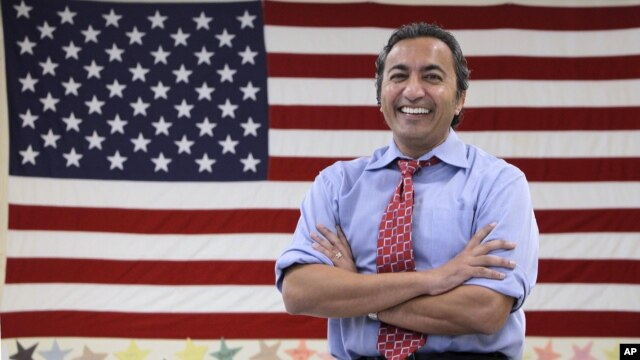 Ami Bera, Democratic candidate for California's 7th Congressional district, at his campaign office Elk Grove, Oct. 26, 2012.