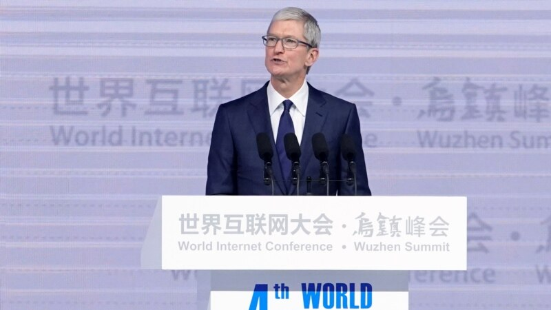 Apple, Google at China Internet Fest Shows Lure of Market