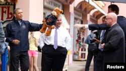 President Obama Visits New Jersey