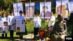 南加多族裔代表妇女节纪念慰安妇
