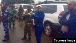 Gusezera ubwa nyuma Lt. Col. Darius Ikurakure