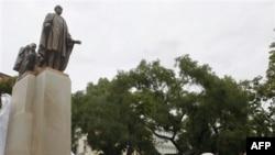 Новий пам'ятник Вудро Вільсону у Празі