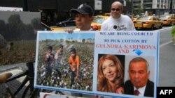 Дочь президента Узбекистана представила в Нью-Йорке свою коллекцию одежды