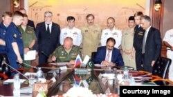 این توافقنامه روز سه شنبه (۱۶ اسد) توسط مقام های پاکستانی و روس در شهر نظامی راولپندی امضا شد.