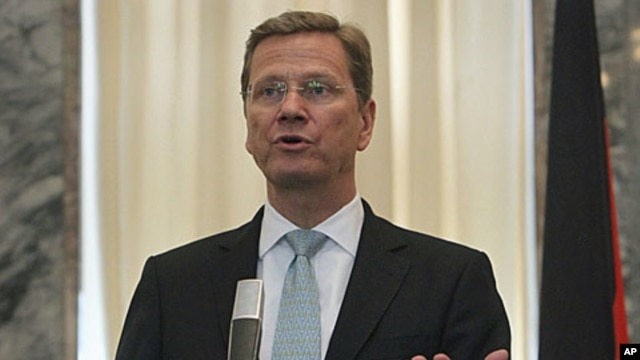 German Foreign Minister Guido Westerwelle (file photo)