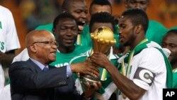 M/weynaha K/Afrika oo Koobka Siinaya Kabtanka Nigeria