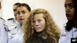 巴勒斯坦17岁女子被带入以色列军事法庭