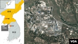 开城工业园区地理位置图