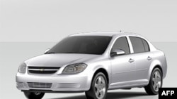 Xe Sedan Chevrolet Cobalt 2010 của hãng GM