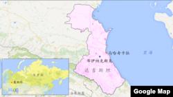 達吉斯坦共和國地圖