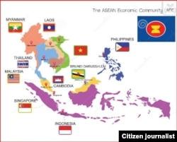 ASEAN Community Map