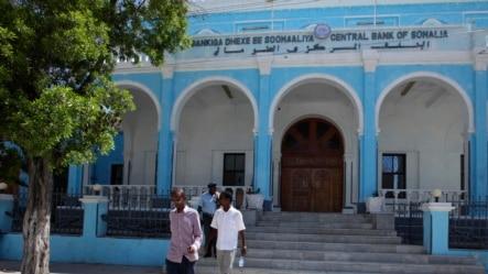 Bank in Hamarwayne district, south of capital Mogadishu, May 16, 2013