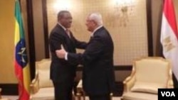ETHIOPIA, EGYPT LEADERS