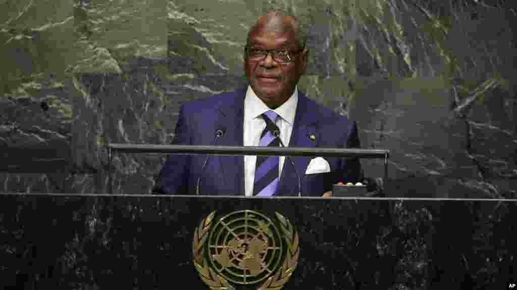 Mali President Ibrahim Boubacar Keita.