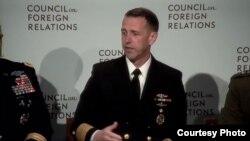美國海軍作戰部長約翰·理查森海軍上將(外交關係協會網站截圖)