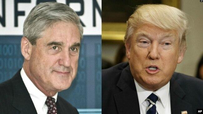Robert Mueller ve Donald Trump