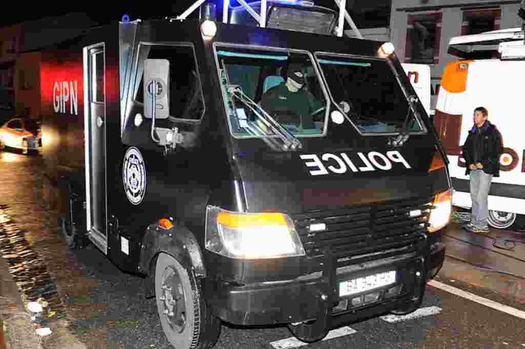 El GIPN (Grupo de Intervención de la Policía Nacional de Francia), ayudó a controlar la situación en las cercanías del apartamento donde se atrincheró Mohamed Merah.