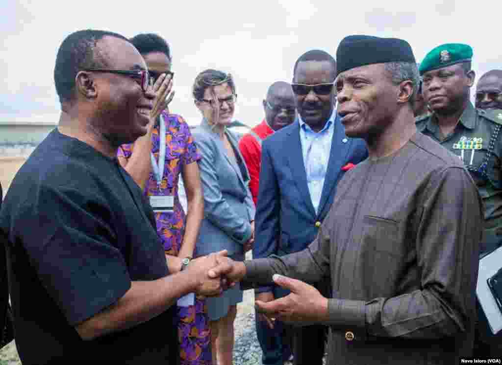 Yemi Osinbanjo Ya Kai Ziyara Tasahr Issowar Jiragin Ruwa A Lagos