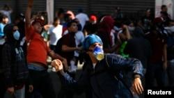 Người biểu tình bất mãn vì lạm phát tăng nhanh, thiếu hàng trong các siêu thị và tội phạm tràn lan.