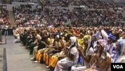 Bà Suu Kyi đọc diễn văn trước cộng đồng người Miến Điện ở Indiana