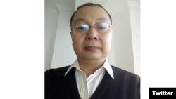 中国贵州大学杨绍政教授 (推特照片)
