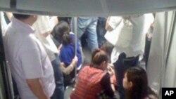 上海地鐵追撞事故仍然有270多人住院治療﹐星期三上海地鐵系統恢復營運