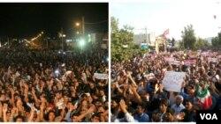 تجمعهای انتخاباتی پرتعداد دو کاندیدا، دو روز پیش از انتخابات ممسنی