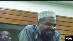 Imam Mashuhuri wa Mombasa Aboud Rogo akiwa mahakamani