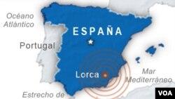 El epicentro se ha localizado en la sierra de Tercia, en el término municipal de la localidad de Murcia, en la provincia de Lorca, España.