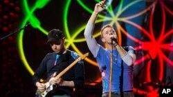El cuarteto británico que encabeza Chris Martin, cantó por dos horas.