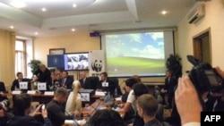 Арнольд Шварценеггер в Высшей школе экономики в Москве