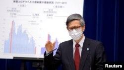 Penasihat medis utama pemerintah Jepang, Dr. Shigeru Omi (foto: dok).