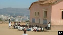 Escola primária na Huila, Angola