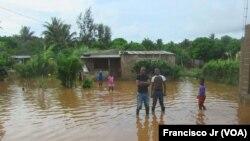 Chuvas e vento provocam destruição no centro e norte do país