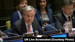 António Guterres ni Umunyamabanga mukuru wa ONU