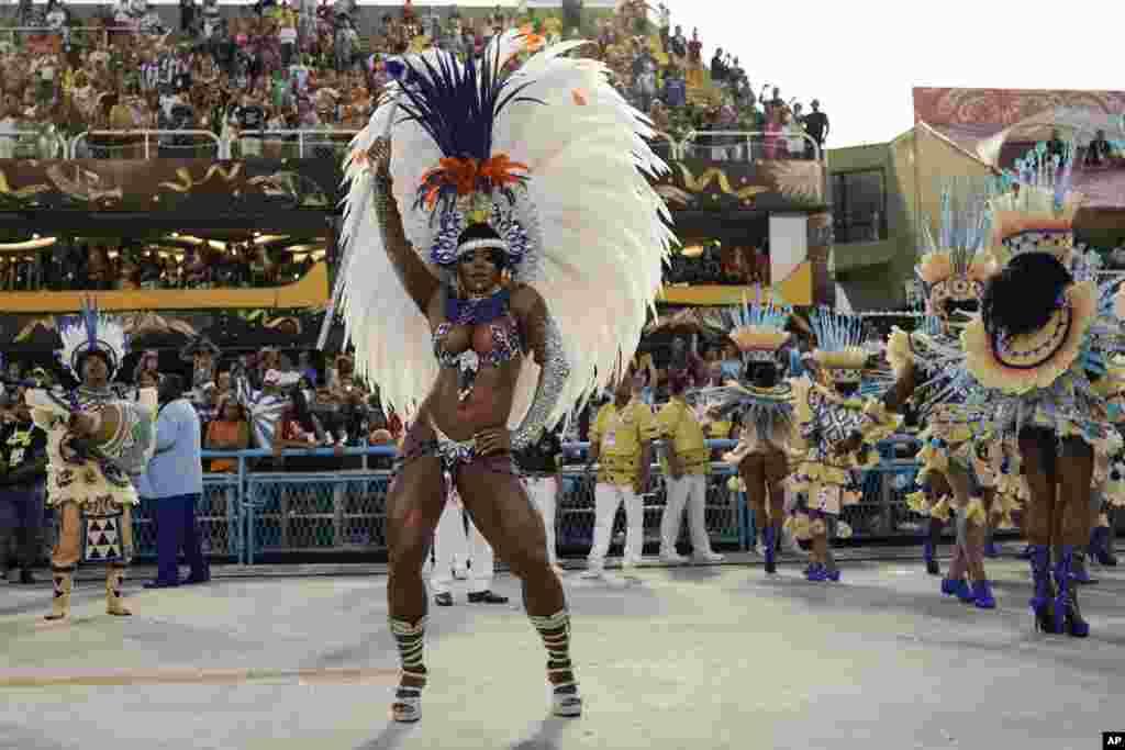 Escola de samba da Portela.Sambódromo, 24 fevereiro 2020