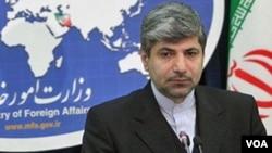 Jurubicara Kementerian Luar Negeri Iran, Ramin Mehmanparast menilai sanksi-sanksi baru Uni Eropa 'tidak manusiawi' (foto: dok).